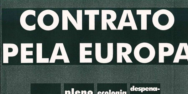 Manifesto Europeias 1999
